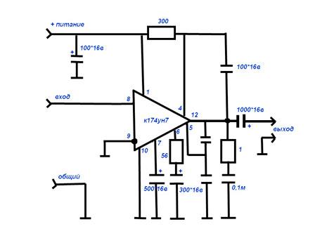Схема подключения и структура