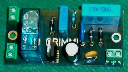 Плата включение/выключение усилителя Grimmi с тиристорным управлением