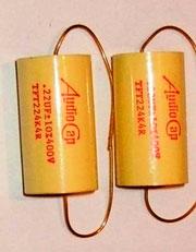 Конденсатор разделительно / переходной Audiocap TFT тефлон
