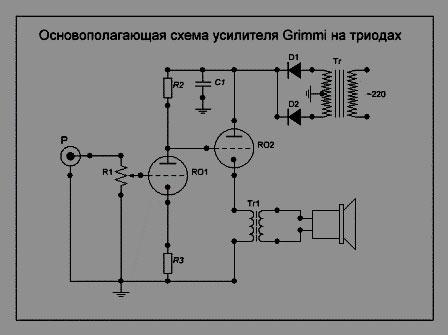 Схема усилителя хай-энд